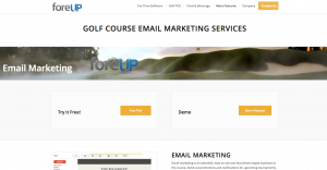 golf email marketing tips